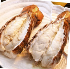 Maine Lobster Tails Youngstown Crab Co. Youngstown, Ohio