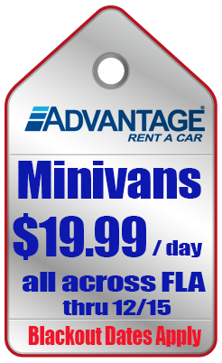 Advantage minivan deals