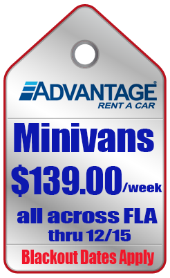 minivan coupons florida