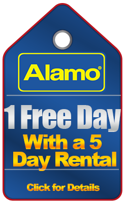 Alamo Free Day Coupon