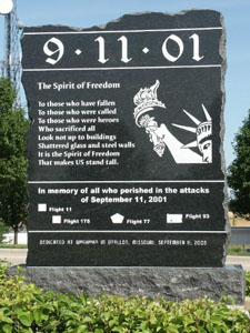 9-11 Memorial St. Charles, Missouri