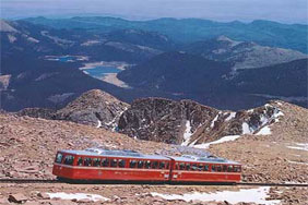 Pikes Peak Cogway Colorado Springs