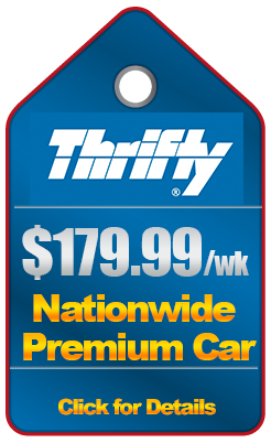 Thrifty Premium rental Coupon