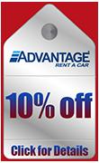 Advantage Rental Car Specials