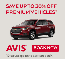 Avis Rental Car Coupons